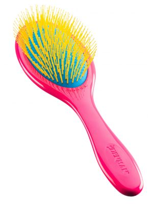 Denman D93 Gentle Wet Brush Rosa