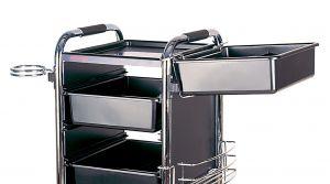 Lådhållare i Metall