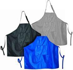 Färgförkläde Protect X Silver & Blå